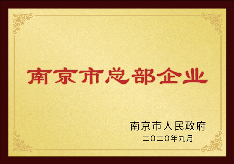 南京市总部企业
